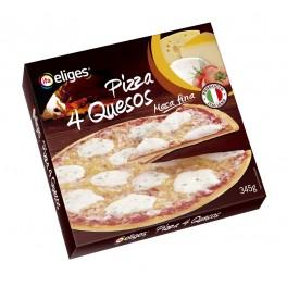 PIZZA 4 QUESOS CONGELADA 345 GRS.