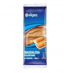 MAGDALENAS VALENCIANAS 12 UND. (ENV IND) BOLSA 350 GRS.