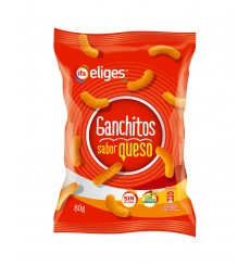 Ganchitos Queso 80 grs.