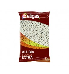Alubia Blanca extra bolsa 1 kgr.