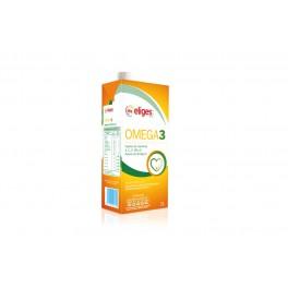 Leche Omega 3 desnatada 1 litro, brick