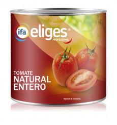 Tomate natural lata 3 kgr.