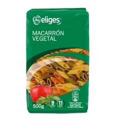 MACARRON VEGETAL CORTO BOLSA 500 GRS.