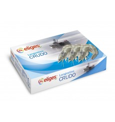 LANGOSTINO CONGELADO CRUDO GRANEL 30/40 PZAS/KG 10%