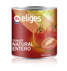 Tomate natural lata kilo peso neto 780 grs.