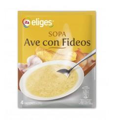 SOPA DESHIDRATADA DE AVE CON FIDEOS
