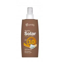 Aceite bronceador coco fp -10 spray