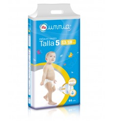 Pañales Pasitos 13-18 kgr.  (T5) 44 unds.