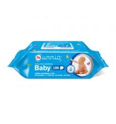 Toallitas húmedas Baby con tapa 100 unds.