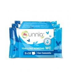 Papel WC HUMEDO PACK 3x10 pegatina