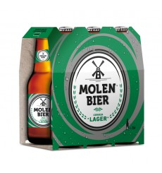 Cerveza Rubia 25 cl. Pack 6 unds (botellin)