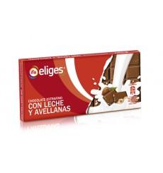 Chocolate extra fino con leche y avellana