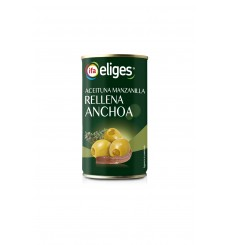 Aceituna Manzanilla Rellena Lata 150 PNE