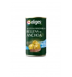Aceituna  Suave (baja sal) Manzanilla Rellena Lata 150 PNE
