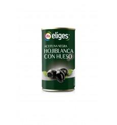 Aceituna Hojiblanca Negra Lisa Lata 185 PNE
