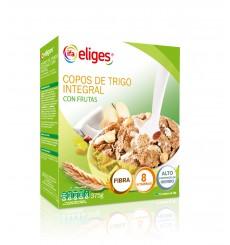 Copos de arroz y trigo integral con chocolate 375 grs.