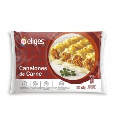 CANELONES CARNE 500 GRS. BOLSA