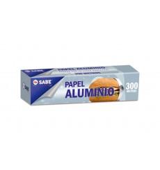 PAPEL ALUMINIO INDUSTRIAL 300 M