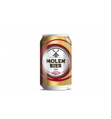 Cerveza Rubia 33 cl 100% Malta Pack 6 unds (lata)