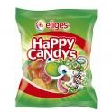 Caramelos de goma redondos sabores frutales
