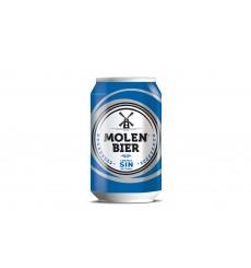 Cerveza Rubia SIN 33 cl. Palck 6 unds (lata)