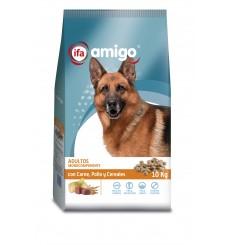 Perro mantenimiento monocomponente carne, pollo y cereales 10 kg