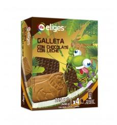 GALLETAS ANIMALITOS CHOCOLATE (4 ESTUCHES X 56 GRS.) 225 GRS.
