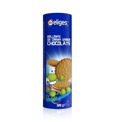 GALLETA RELLENA CHOCO PAQUETE 500 GRS.